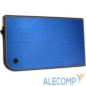 "3UB2A14(BLUE) AgeStar Мобил рек AgeStar 3UB2A14 (Blue) usb3.0 to 2,5""hdd SATA алюминий [10607]"