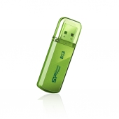 SP008GBUF2101V1N 8Gb Silicon Power Helios 101 (SP008GBUF2101V1N), USB2.0, Green