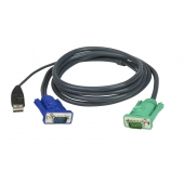 2L-5201U ATEN CABLE HD15M/USB A(M)--SPHD15M; 1.2M