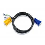 2L-5203A ATEN CABLE SP15F -- HD15M/AUDIO/AUD; 3M*2L-5203A