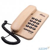 15119175 RITMIX RT-320 light wood телефон проводной  повторный набор номера, настенная установка, регулятор громкости