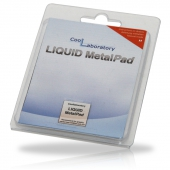 CL-MP-1G Термоинтерфейс Coollaboratory Liquid MetalPad CL-MP-1G, 1 пластина для GPU (20x20 мм)