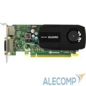 VCQK420-2GB-PB PNY Quadro K420 2GB PCIE DP DL DVI 876/891 128-bit DDR3 192Cores Low Profile PCB DP to DVI-D & DVI-I to VGA adapter, Retail