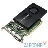 VCQK2200BLK-1 PNY Quadro K2200 4GB PCIE 2xDP DVI 1046/1253 128-bit DDR5 640 Cores 2xDP to DVI-D SL & DVI-I to VGA adapter, Bulk