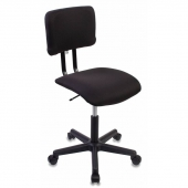 CH-1200NX/BLACK Кресло CH-1200NX/BLACK без подлокотников черный