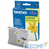 LC970Y Brother LC-970Y Картридж ,YellowDCP-135C/150C/MFC-235C/260C, Yellow, (300стр)