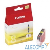 0623B024 Canon CLI-8Y 0623B024 Картридж для Canon 4200/5200/MP500/MP800, Желтый, 490стр.
