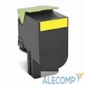 80C8HY0 Lexmark 80C8HY0 Тонер-картридж, Yellow CX410/CX510, LRP (3K)