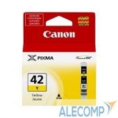 6387B001 Canon CLI-42 Y 6387B001 Картридж для PIXMA PRO-100, желтый, 284 стр.