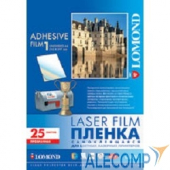2800003 LOMOND 2800003 PET Self-Adhesive Clear Laser Film, прозрачная, самоклеящаяся, А4, 100 мкм, 25 листов