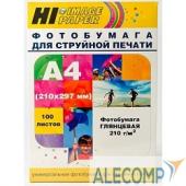 A200402U Hi-Black A200402U Фотобумага глянцевая односторонняя (Hi-image paper) A4, 210 г/м, 100 л. (H210-A4-100)