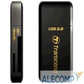TS-RDF5K USB 3.0 Multi-Card Reader F5 All in 1 Transcend TS-RDF5K Black