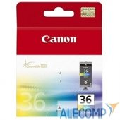 1511B001 Картридж Canon PIXMA iP100/260 (O) CLI-36, Color