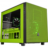 CA-1E8-00M8WN-00 Thermaltake Core X5 (CA-1E8-00M8WN-00) Window, USB3.0, Green, без БП, E-ATX Cube Riing Edition