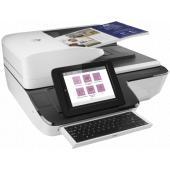L2763A L2763A HP Scanjet Enterprise Flow N9120 fn2 Flatbed Scanner (A3,600x600 dpi,24 bit, USB ,ADF 200 sheets, 120ppm A4, Duplex, 1y warr, replace L2683B)