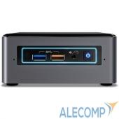 BOXNUC7I3BNHX1 Платформа Intel NUC BOXNUC7i3BNHX1, Core i3-7100U, SO-DIMM DDR4, SATA 6Gb/s + M.2 HDD, Wi-Fi, Bluetooth, GLAN, USB3.1, HDMI, NO OS, 65W, Black-Silver (958546)