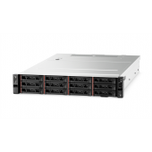 7X99A03PEA Сервер 7X99A03PEA Lenovo TS TCh ThinkServer SR590 Rack 2U,Xeon Silver 4110 8C (2.1GHz/11MB/85W), 16GB/2Rx8/1.2V RDIMM,3x600GB 10k SAS (up to 8/16),SR930-8i (Flash 2GB),2xGbE,2x750W p/s,2x2,8m Juniper Cord,XCC Advanced