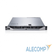 "R430-ADLO-41t Сервер Dell PowerEdge R430, 2xE5-2623v4, 4x16GB, 5x600GB SFF 2.5"" SAS 10k 12Gbps, PERC H730p, 2x550W (R430-ADLO-41t)"