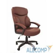 7007493 Офисное кресло Chairman 435 LT     экопремиум коричневая 7007493