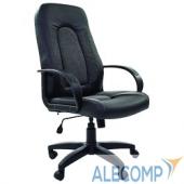 7007095 Офисное кресло Chairman 429 экопремиум черный+ткань 20-23 серая
