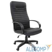 7000191 Офисное кресло Chairman   480 LT   экопремиум черный 7000191