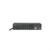 AP7822B APC Rack PDU, Metered, 2U, 230V, 32A, output: (12) IEC 320 C13 & (4) IEC 320 C19, input: IEC 309 32A 2P+E, 3,66m power cord AP7822B