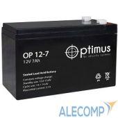 OP1207 Аккумулятор Optimus OP1207 12V/7Ah