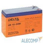 HR12-34W Аккумулятор Delta HR 12-34W (9Ah, 12V) HR12-34W