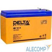 HR12-9 Аккумулятор Delta HR 12-9 (9Ah, 12V) HR12-9