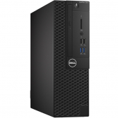 3050-0405 Компьютер Dell OptiPlex 3050 SFF, i3-6100 (3.3GHz,3M,DC), 4GB 2400MHz, 500GB SATA, DVD-RW, VGA, HD620, кеув, mice, Linux, 1Y Basic NBD