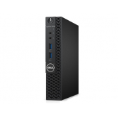 3050-0443 Компьютер Dell Optiplex 3050 Micro,Pentium G4560T (2,9GHz),4GB ,500GB (7200 rpm), HD 610,Win10Pro,TPM,1 years NBD 3050-0443