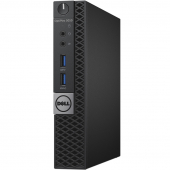 5050-8208 Компьютер Dell Optiplex 5050 Micro, Core i3 7100T, 4Gb, SSD 128Gb, , Linux, Черный (5050-8208)