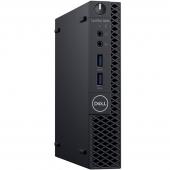 3060-7564 Компьютер Dell Optiplex 3060 Micro, Core i3 8100T, 4Gb, 500Gb, DVD-RW, Kb + M, Win 10 Pro, Черный (3060-7564)