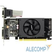 GV-N710D3-2GL Видеокарта Gigabyte GV-N710D3-2GL (V2.0) RTL {GT710, 2Gb, 64bit, DDR3, D-Sub, DVI, HDMI, PCI-E}