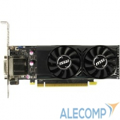 GTX1050TI4GTLP Видеокарта MSI GTX 1050 TI 4GT LP RTL nVidia GTX 1050TI 4096Mb 128bit 1290/7008 DVIx1/HDMIx1/DPx1/HDCP low profile