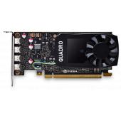VCQP1000BLK-1 Видеокарта VCQP1000BLK-1 PNY Nvidia Quadro P1000 4GB DDR5, PCIE, 128-bit 640 Cores, 4*mDP1.4, 4*mDP to DP 1xmDP to DVI-D SL adapter, LP bracket, Bulk
