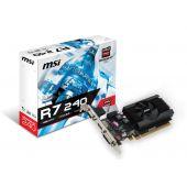 R72401GD364BLP Видеокарта MSI R7 240 1GB GDDR3 R7 240 1GD3 64B LP