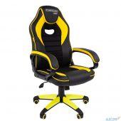 7028514 Офисное кресло Chairman   game 16 Россия экопремиум черный/желтый  (7028514)