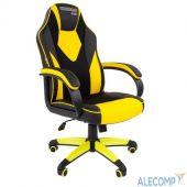 7028515 Офисное кресло Chairman   game 17 Россия экопремиум черный/желтый  (7028515)
