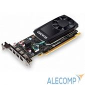 VCQP620BLK-5 VCQP620BLK-5 VGA PNY NVIDIA Quadro P620 GP107GL, 2 GB GDDR5/128 bit, PCI-Express 3.0x16, Mini DisplayPortx4, Low Profile, 2xmDP-to-DP