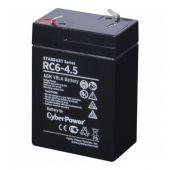 RC6-4.5 CyberPower Аккумулятор RC 6-4.5 6V/4.5Ah
