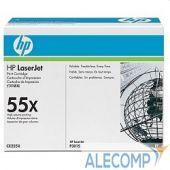 CE255X Картридж HP 55X для LJ P3015, MFP M525dn , черный (12500 стр.)