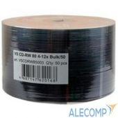 VSCDRWB5001 Диски VS CD-RW 80 4-12x Bulk/50