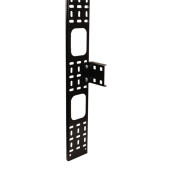 CO05-15033 CO05-15033 ITK Вертикальный кабел. органайзер 33U, 150x12мм, черный