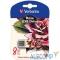049881 Verbatim USB Drive 8Gb Mini Tattoo Edition Rose 049881 {USB2.0}