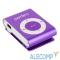 VI-M001Purple Perfeo цифровой аудио плеер Music Clip Titanium, фиолетовый (VI-M001 Purple)