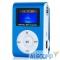 VI-M001-DisplayBlue Perfeo цифровой аудио плеер Music Clip Titanium Display, голубой (VI-M001-Display Blue)