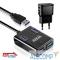 GR-384UAB HUB GR-384UAB Ginzzu USB 3.0 4 port + adapter