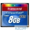TS8GCF400 Compact Flash 8Gb Transcend, High Speed (TS8GCF400) 400-x