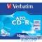 43327 43327 Диски CD-R Verbatim CRYSTAL AZO, 700Mb 80 min 52-x (Jewel Case, 10шт.)